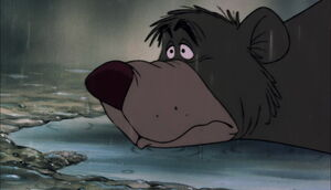 Baloo releasing stress