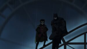 Damian and Batman