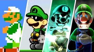 Evolution of Luigi (1983 - 2019)