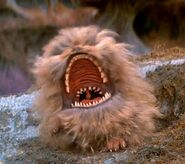 Fizzgig yelling comically