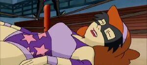 Daphne in Wrestling Ring