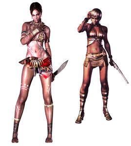 Re5-sheva-costumes