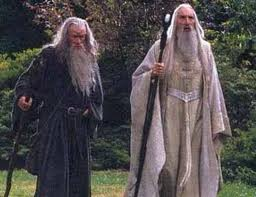 Gandalf & Saruman