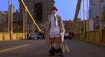 Inspector Gadget after throwing Robogadget's head over the bridge