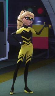 Queen Bee in Queen Wasp