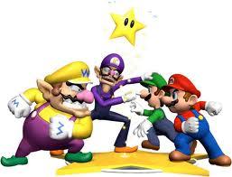 Mario & Luigi vs Wario & Waluigi