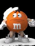 Orange worried