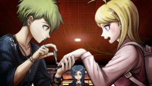 Danganronpa V3 CG - Nail Brush Scene (1)