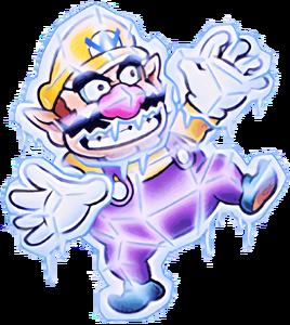 Frozen Wario