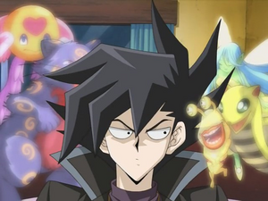 Chazz, Ojama Yellow and Duel Spirits (Ep. 35)