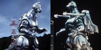 Kaiju Guide MechaGodzilla (UX-02-93) and Super MechaGodzilla