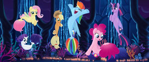 Mane six as seaponies My Little Pony The Movie