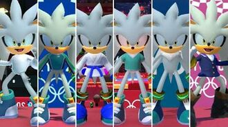 Mario & Sonic at the Olympic Games Tokyo 2020 - All Silver Outfits