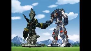 Menasor and Metroplex (Optimus)