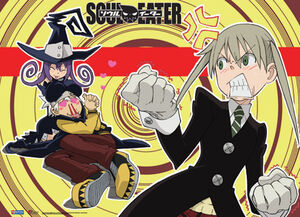 Soul eater poster soul maka and blair by mcn51fj-d61feh2