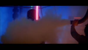 Vader sprayed