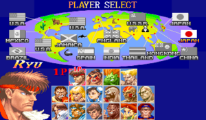 WSuper Street Fighter II - The New Challengers