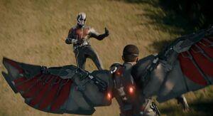 Ant-Man x Falcon