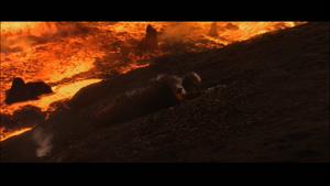 Vader smoldering