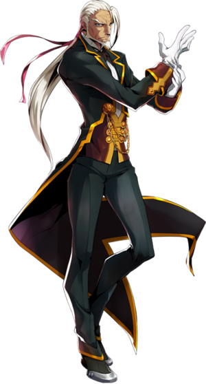 Valkenhayn R. Hellsing (Centralfiction, Character Select Artwork)