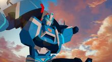Blurr in Robots in Disguise Series
