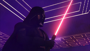 Darth Vader pushed