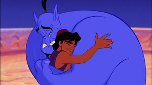 The Genie and Aladdin