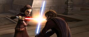 640px-Barriss vs Anakin - TWJ