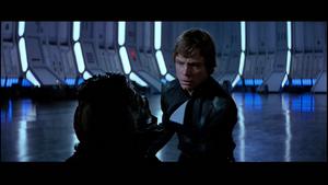 Darth Vader scars