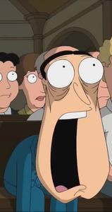 Glenn Quagmire's Jaw Drop