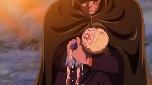 Sabo saved by Dragon