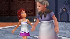Kairi and her grandmother