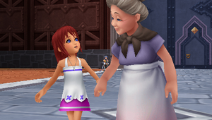 Kairi and her grandmother