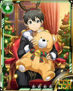 Kirito Nostrade Christmas Card 1