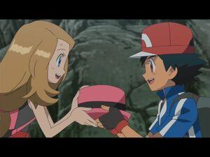Serena and Ash 2