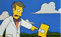 Bart and Principal Skinner