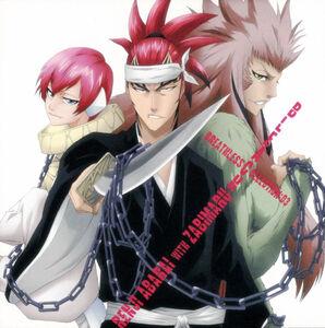 Renji and Zabimaru by mewberry645