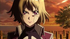 Cross Ange ep 03 Ange determined to survive