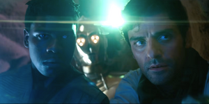 Finn and Poe the Rise of Skywalker