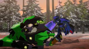 Grimlock is in trouble with Thermidor