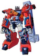 Optimus Prime's battle mode