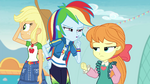 Rainbow Dash shushes Megan Williams EGROF