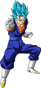 Vegetto super saiyan blue
