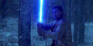 Finn lightsaber