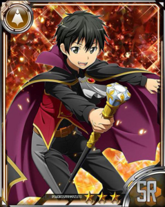 Kirito Nostrade Halloween Card 2