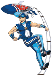 Nick Jr. LazyTown Sportacus Illustrated 2