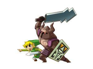 Phantom Guardian Zelda and Link