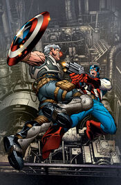 AvengersXSanction 1 Cover Quesada