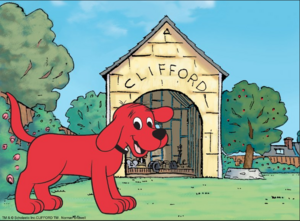 Clifford's Big Doghouse