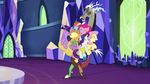 Discord and main cast group hug S5E22